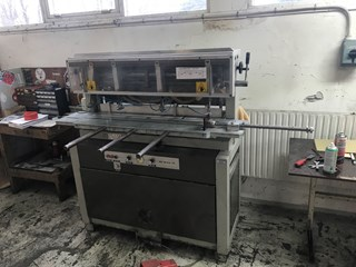 Iram 16- wide -air. Special wide drilling machine  Papierbohren & Stanzen