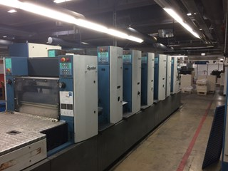KBA Ra 74-6+L ALV2 PWHA  UV end and interdeck Sheet Fed