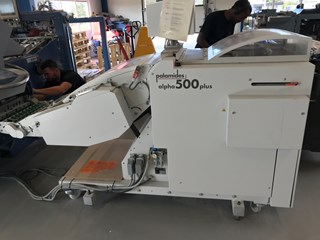 Palamides Alpha 500 Falzmaschinen