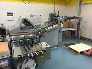 Stahl KD 66/4 KL PD-T Folding machines