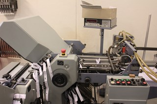 Stahl T 36 6/6   Nr.6 & Nr12. Folding machines