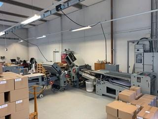 Stahl TF 66/6-4 RD-T +SBP46 Press stacker  Nr. 18 Folding machines