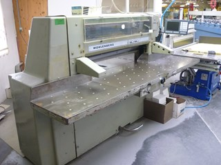 Wohlemberg 115 microcut Guillotines/Cutters