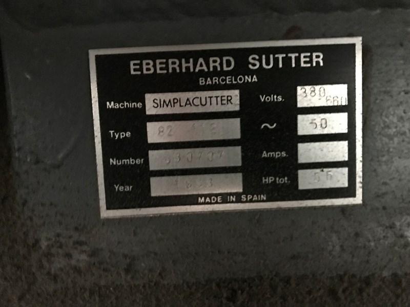 Simplacutter 2. 1120 x 820mm. Hand feed platen