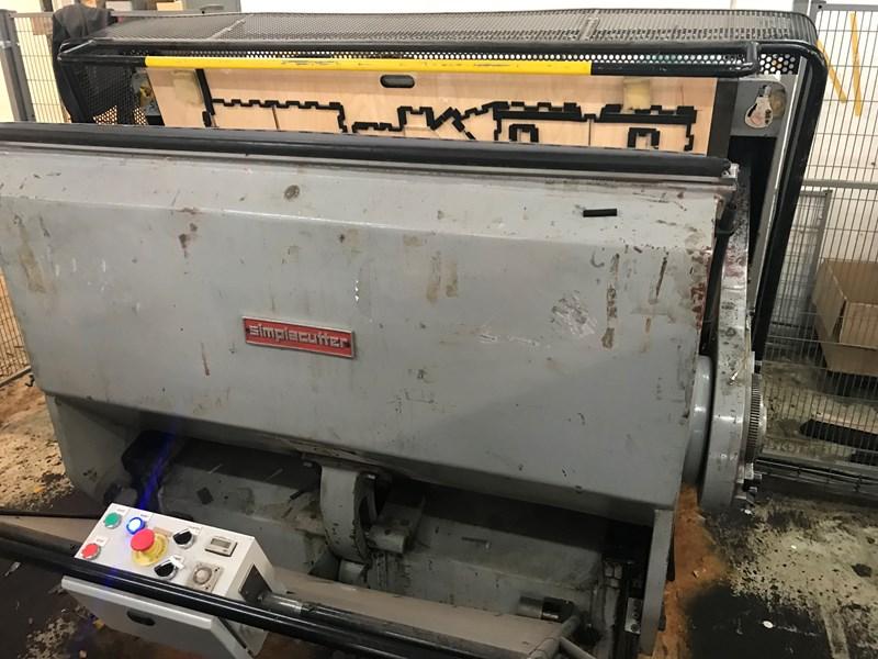 Eberhard Sutter Simplacutter 2 82 112 Die cutting machines