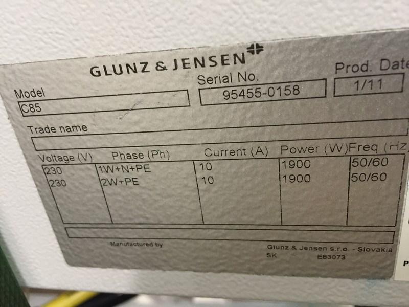 Glunz & Jensen C85 Gum station