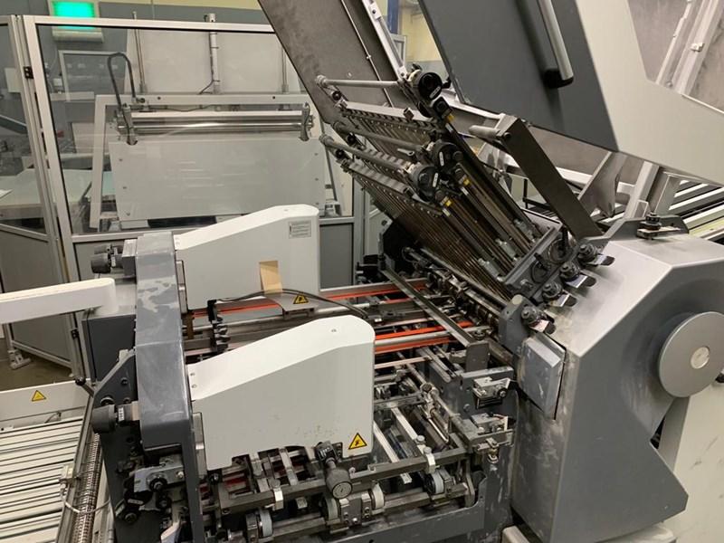 Heidelberg stahlfolder KH66/6KL + SBP 66 standing delivery 6 Pockets +2 Knives Flat pile feeder