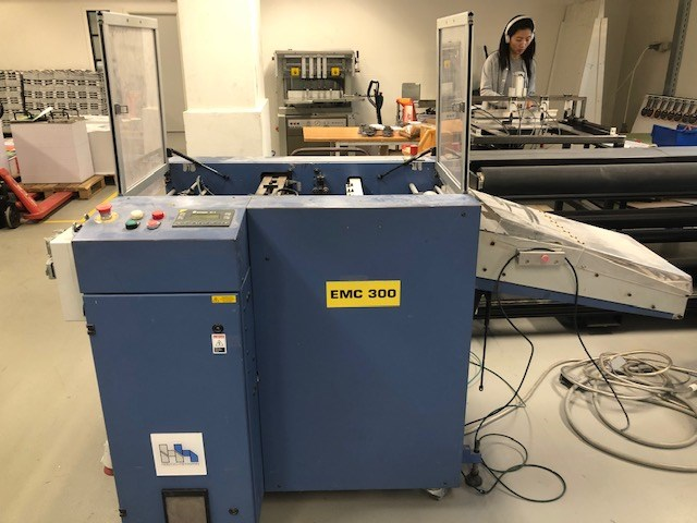 Show details for Herzog & Heymann EMC 13 / James Burn EMC 300 diecut machine