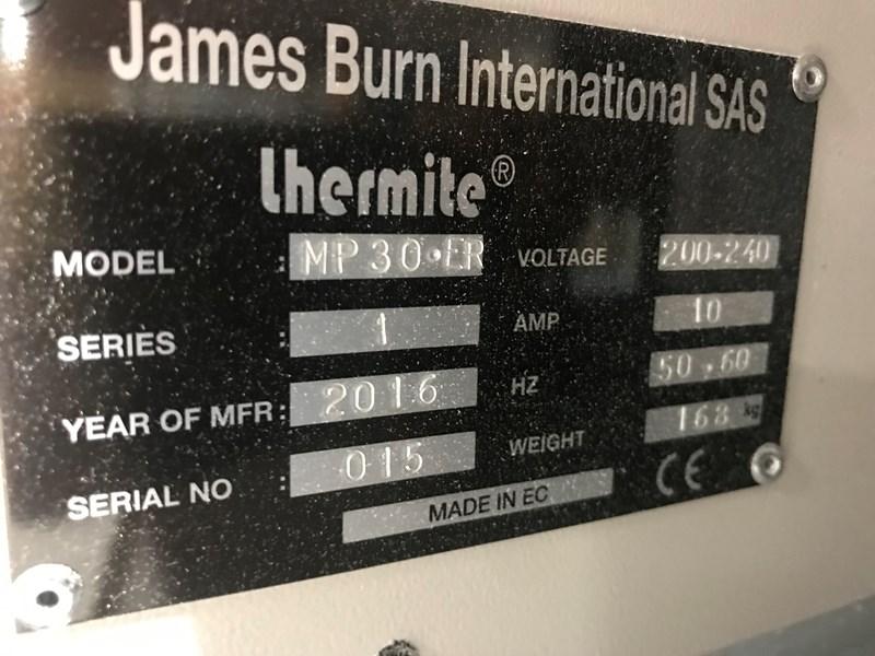 James Burn JBI Mini MP30.ER Punch machine 2016