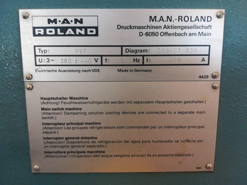 Show details for Man-Roland  RVF 0B