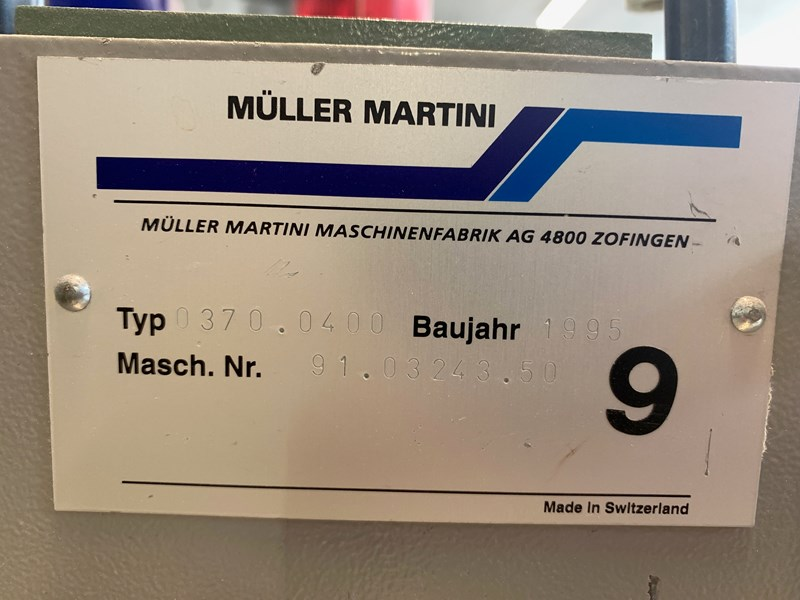 Müller Martini Prima  5 + Cover trimmer & Stacker