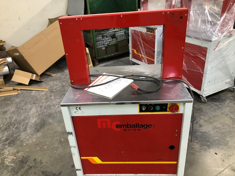 Show details for Transpack TP 701 straping machine