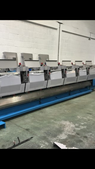 Muller Martini 370 Feeders - Including Bases (total 6) 订书线