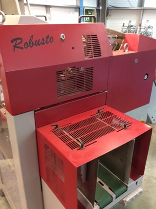 Muller Martini Robusto Stacker Zusammentragmaschine - Sammel hefter