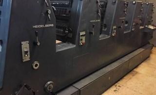 Heidelberg GTOF 52-5 N P (1989) Gebrauchte Bogenoffsetmaschinen