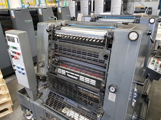 Heidelberg GTO ZP 52 -2 Sheet Fed