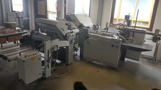 Heidelberg Stahlfolder TI 52-4/4  Folding machines