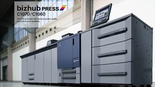 KONICA MINOLTA bizhub PRESS C1070 Máquinas para impresión digital