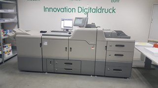 Ricoh Pro C751 including free Tonner and parts  Digital Printing