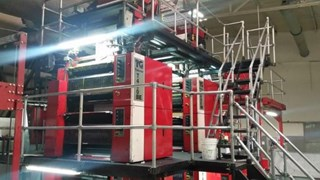 Tensor Two Tower Web Offset Press Line 4 color double side