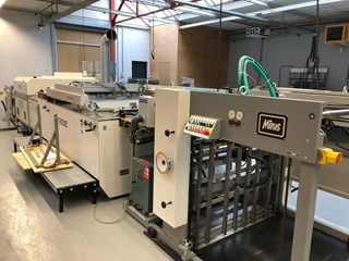 THIEME  5020 Print size (mm) 750 x 1050 With UV dryer and stacker Finishing