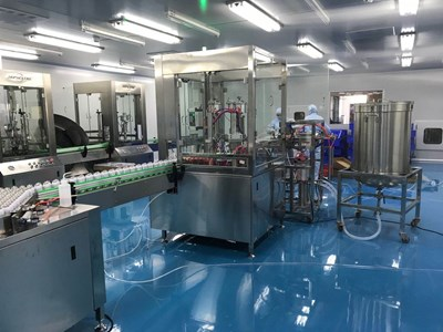 GPM 3000 Disinfection spray Filling & sealing advanced  line