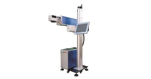 Fly CO2 Online Fiber Laser Marking Machine