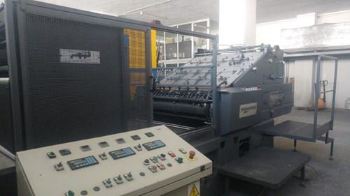 Miller Johannisberg  104S Hot Foil Stamping press