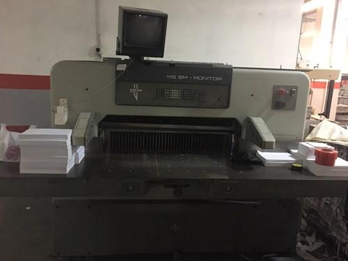 guillotine POLAR 115 EM-MONITOR of