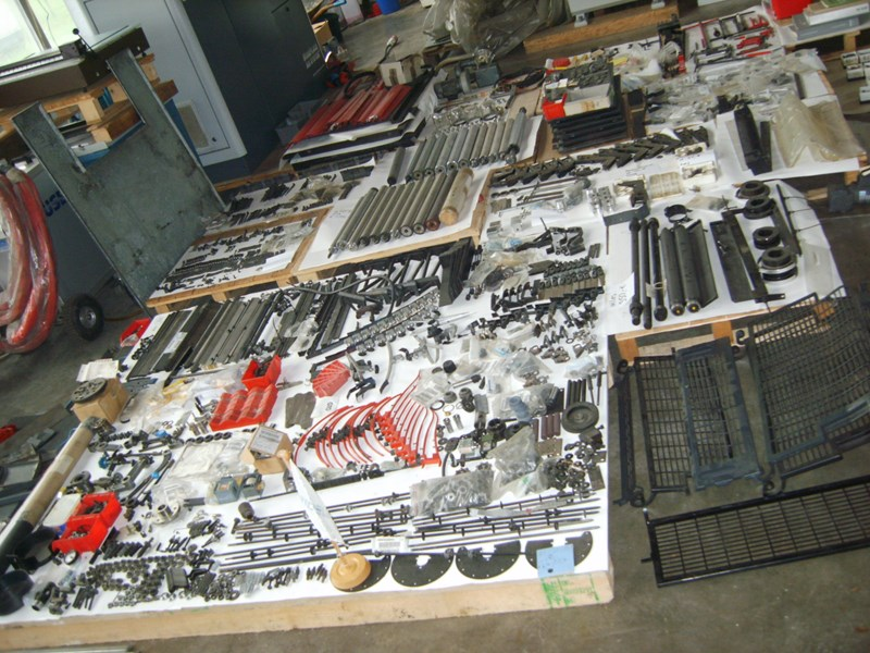 New and used Original  parts for Heidelberg GTO Offset  Presse