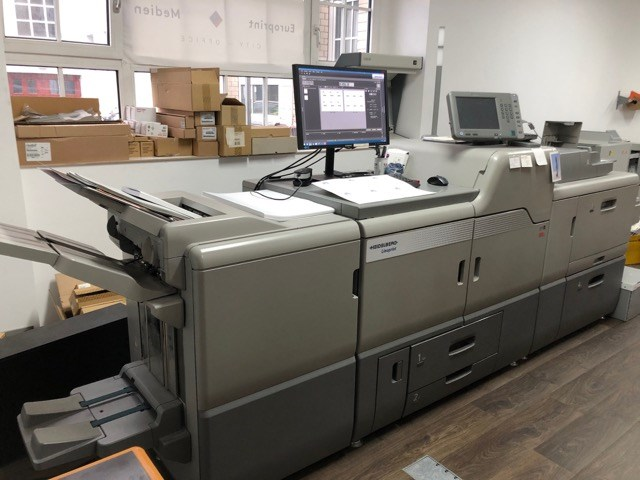 Show details for Heidelberg Pro C7100X five color with white and varnish