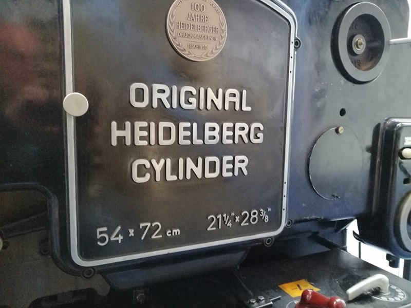Heidelberg Cylinder S
