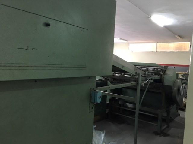 Rotary Board Cutter Kolbus Book Making machine