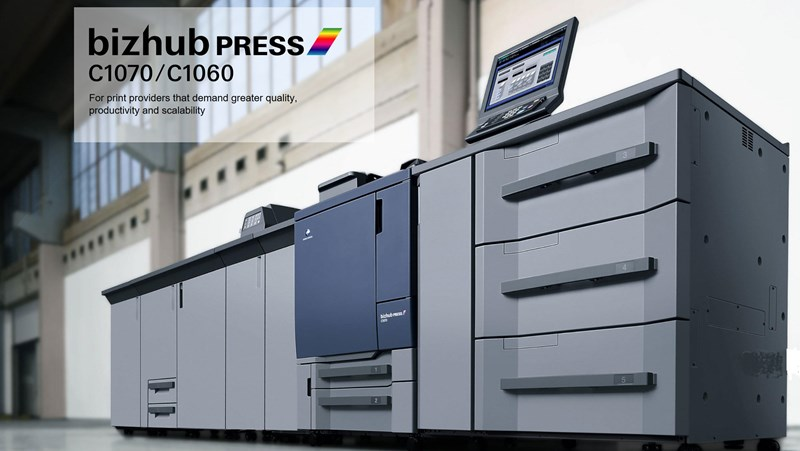 Show details for KONICA MINOLTA bizhub PRESS C1070
