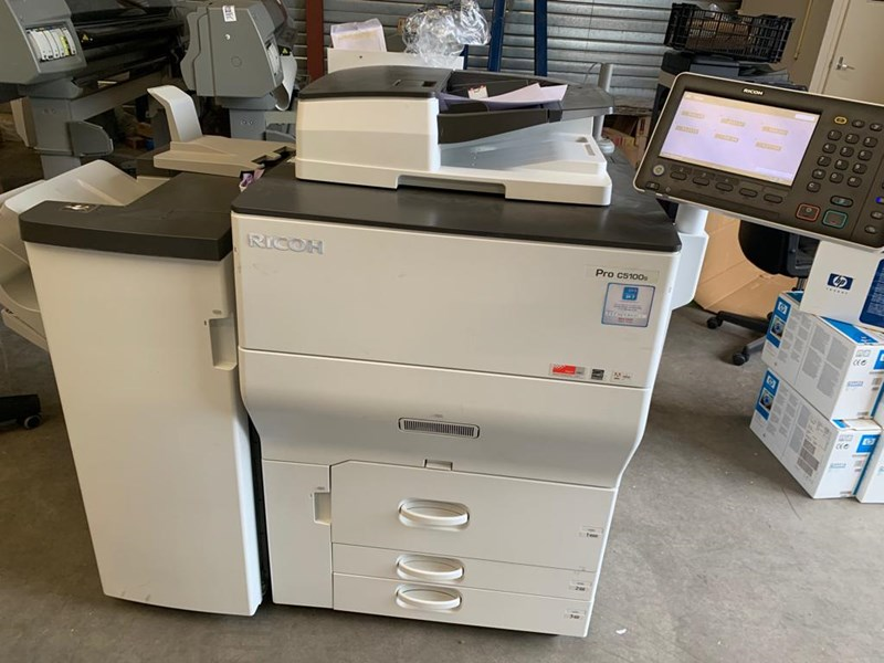 Show details for Digital Full Colour Production Printer RICOH Pro C5100S