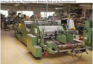 KECK SF 80 Rigid Box Machinery