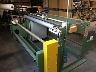 Menzel RE-ROLING-MACHINE Rewinder