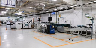 CMC Polyjet 3231 Wrapping line Mail room equipment