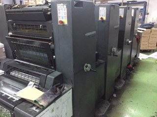 Heidelberg PM52-4 Sheet Fed