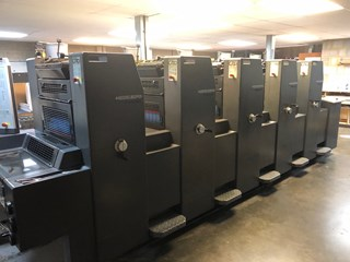 Heidelberg PM 52-5 five colour press Sheet Fed
