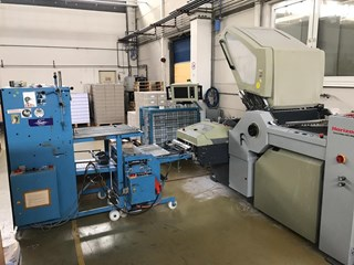 Horizon AFC-746F combination folder Folding machines