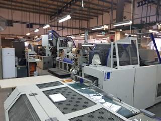 Kolbus BF 511 casing in line Hardcover Buchproduktion