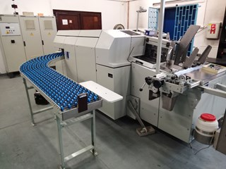 Kolbus DA260 casemaker Case production