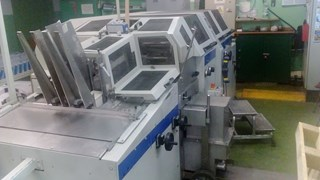 Kolbus DA 260 Casemaker Case Production