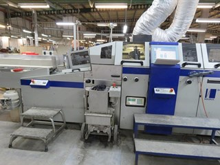 Kolbus DA270 casemaker Case production