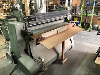 Kolbus KS clothcutter Case production