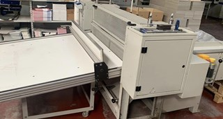 Kolbus PK 170 automatic board cutter Case Production