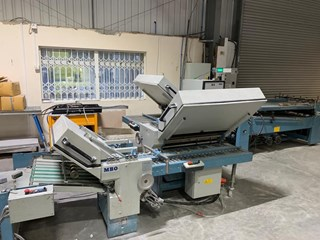 MBO B30 4/4/4 all buckle folding machine Folding Machines