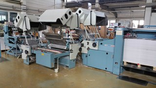 MBO T800-4/4/4 all buckle foder Folding machines
