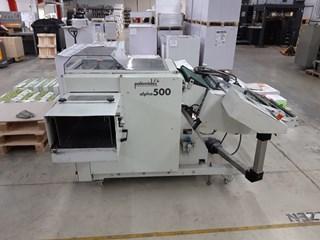 Palamides Alpha 500 stacker Folding machines